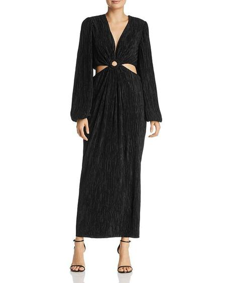 Ronny Kobo Selita Dress - Black