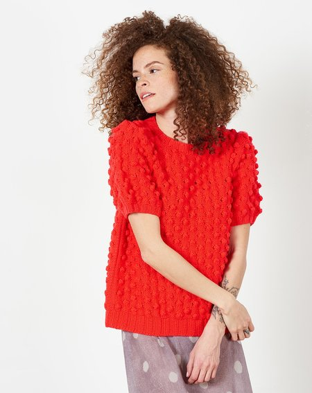 A Détacher Miyu Pullover - Red Fluo