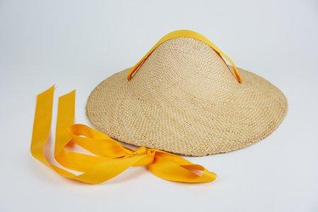 Clyde Adriatic Hat w. Ribbon - Marigold