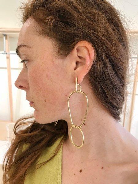 Fay Andrada Moni LG Earrings - Brass