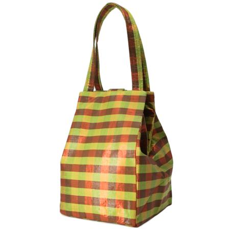 COA NYC Iridescent Everyday Bag - PLAID