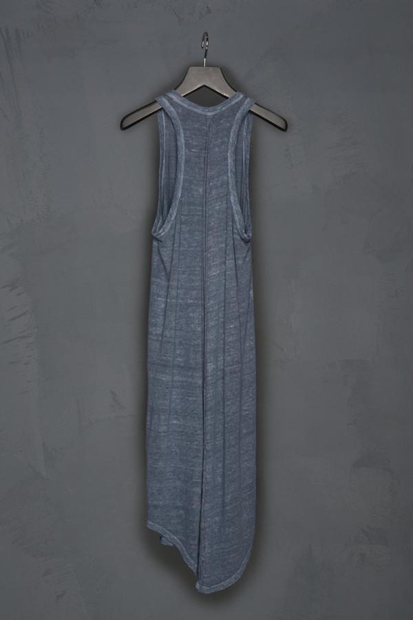 Racer Back Linen Tank Dress
