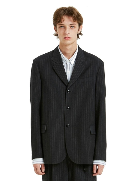 LIFUL MINIMAL GARMENTS. Classic 3 Button Blazer - Gray