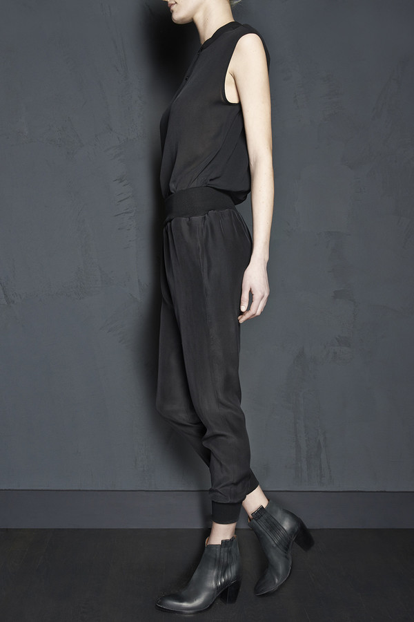 Ribbed Jumpsuit