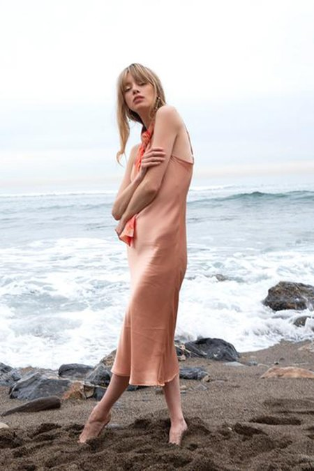 Love Faustine Marjorie Slip Dress - Blush