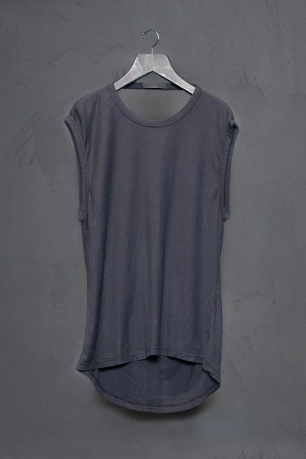 KES Sleeveless Cotton Tee