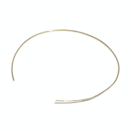 Tarin Thomas Janey Gold Plate Choker