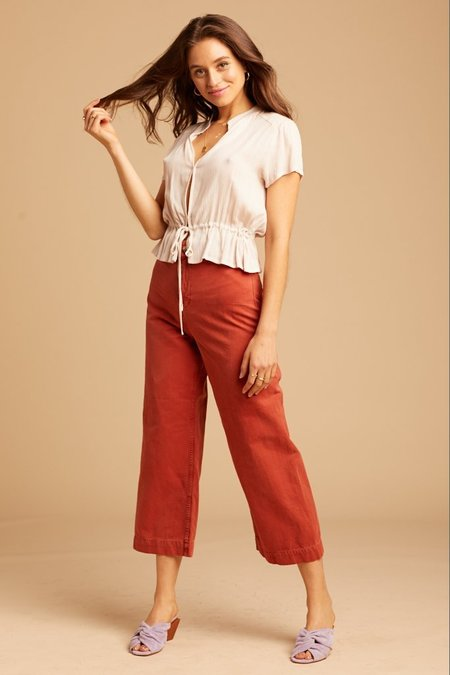 Free People Patti Pant - Chili Flake