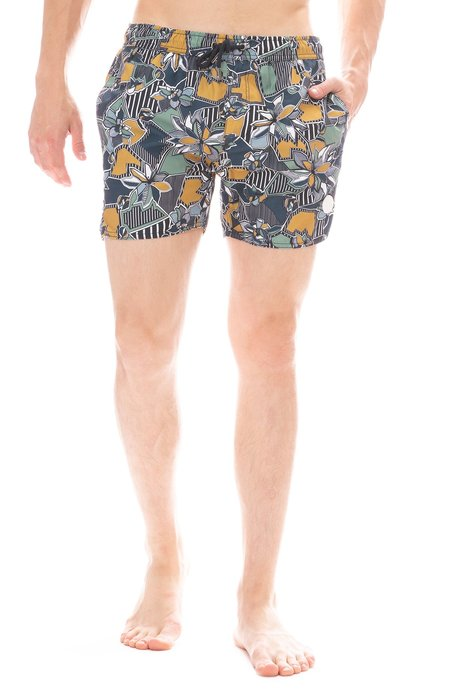 3e405a10e2 ... Native Youth Geographic Floral Swim Short - Navy