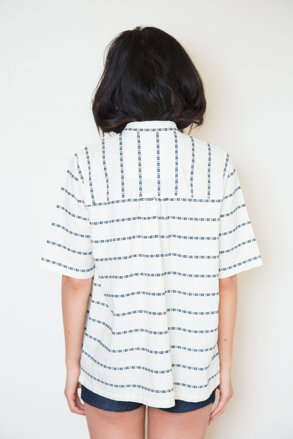 Ace & Jig saltspring top in rosettetop