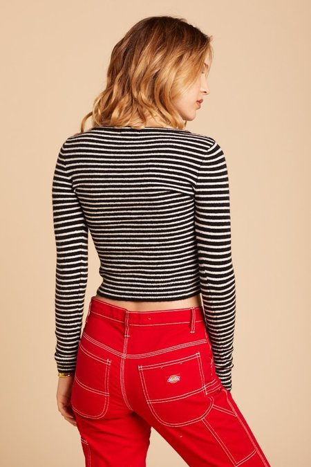 Amuse Society Nova Sweater - Stripe