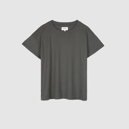 MATE The Label The Vintage Boxy Crew - Charcoal