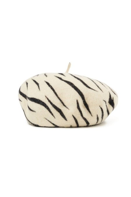 Brixton Audrey Beret - White Tiger