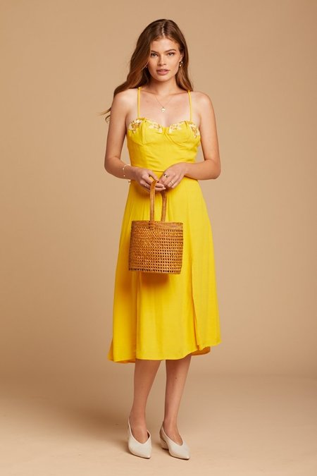 Cleobella Tegan Dress - Yellow