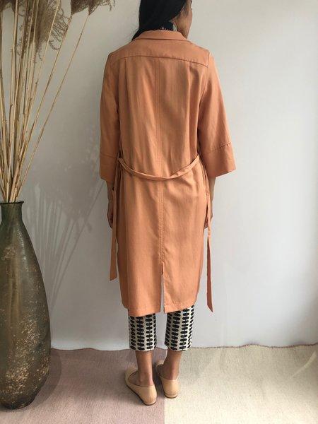 EVE GRAVEL ZENITH DRESS - PAMPLEMOUSSE