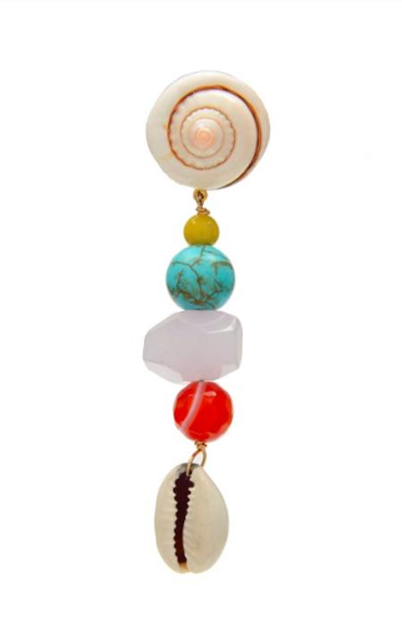 SVNR Huatulco Earrings - Shell/Multi