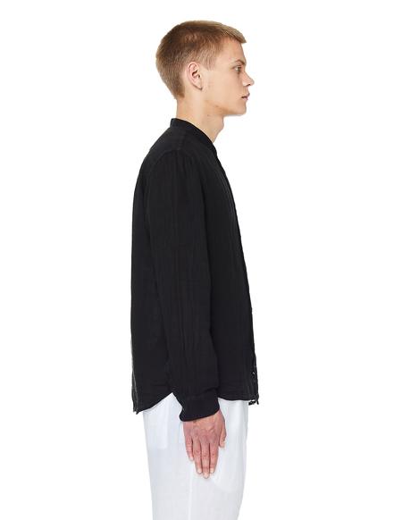 120% Lino Linen Shirt - Black