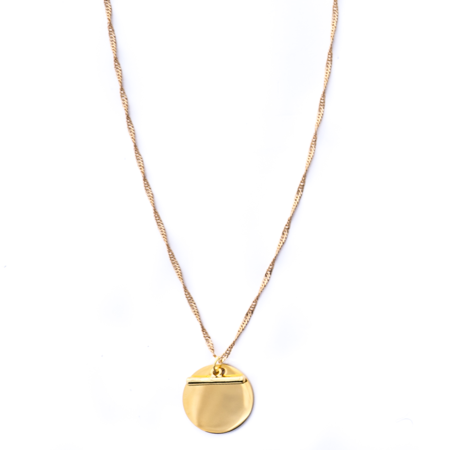 Mod + Jo Faye Pendant Necklace - Gold