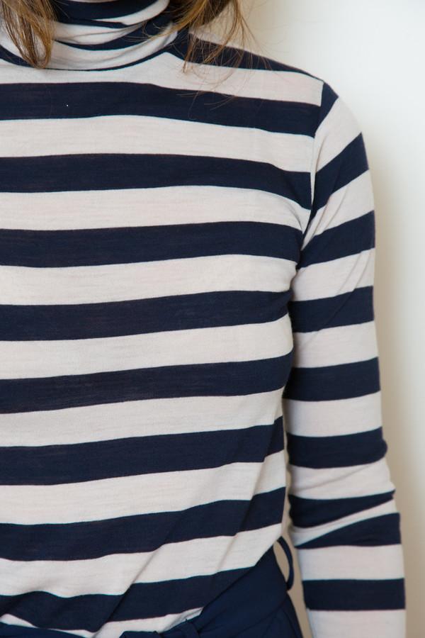 just female striped turtleneck