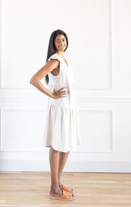 ces' femme Cotton Dress - Oatmeal