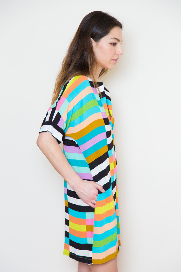 mara hoffman cdc shirt dress