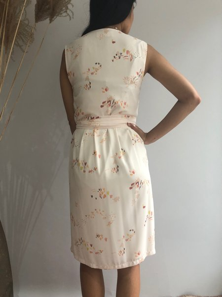 EVE GRAVEL FLORA DRESS - GROVE