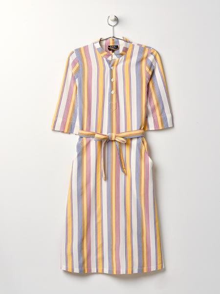 A.P.C. Robe Oleson Dress - MULTICOLOR