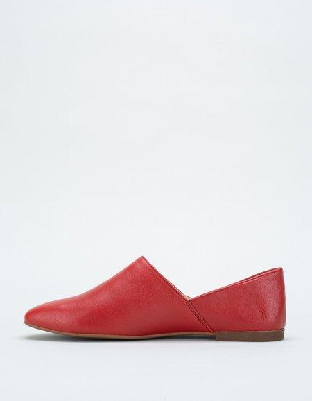 Vagabond Ayden Babouche - Dark Red