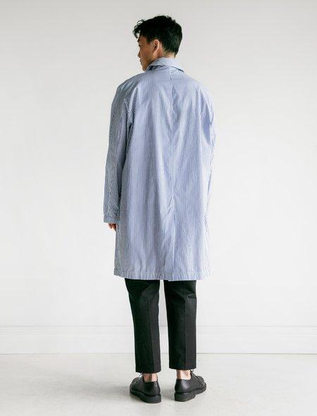 Our Legacy Mac Coat - Blue Stripe