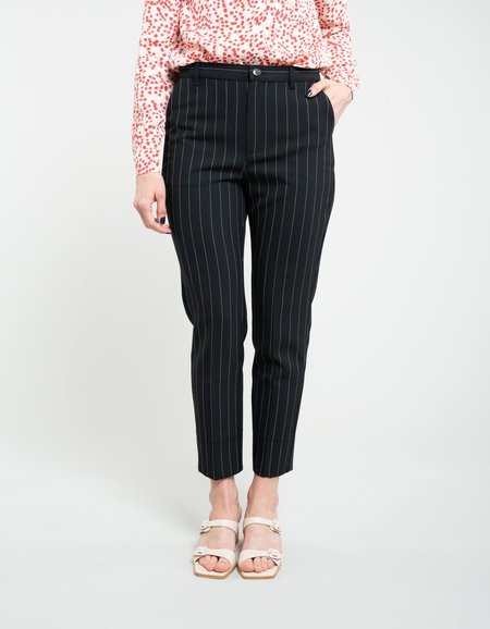 Ganni Suiting Slim Pants - Black