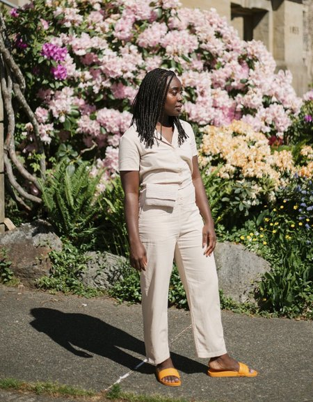 Lacausa Montana Jumpsuit - Biscuit