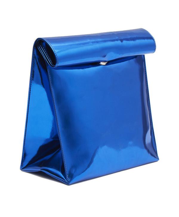 SMK Foldover Bag in Midnight Blue