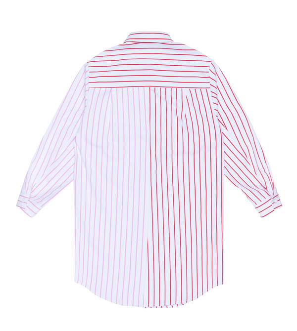 Two Color Stripe Shirt