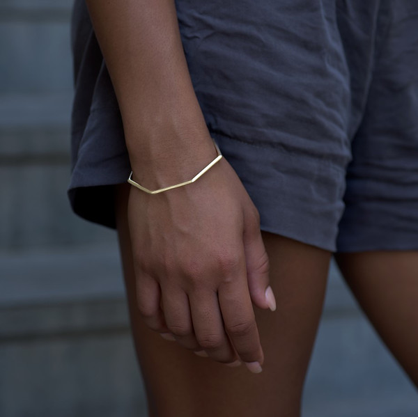 Knobbly Studio Weekday Bracelet in Gold