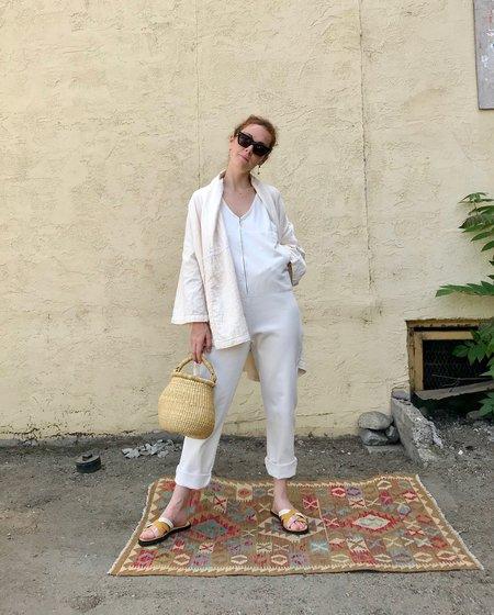 Rachel Comey Buxton Jumpsuit - Dirty White