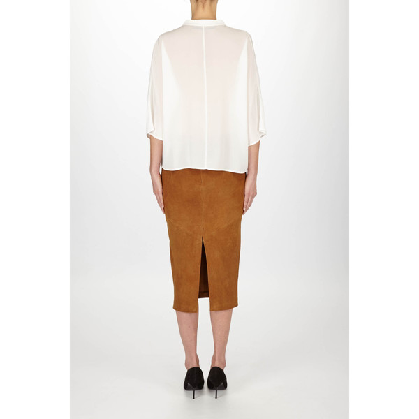 """Just Female """"Rhodes"""" VNeck Blouse with Flare Sleeves"""