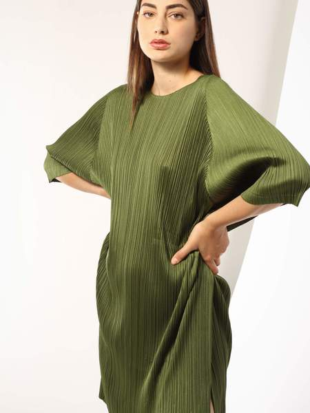 Issey Miyake Tunic Dress - Green