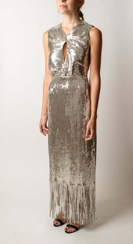Rachel Comey Petra Dress - silver