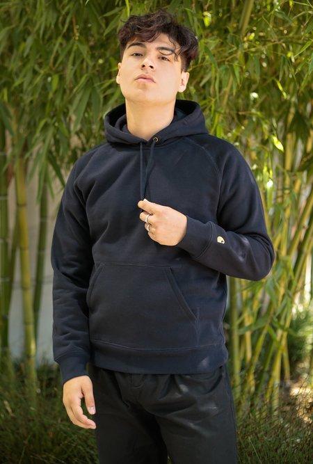 CARHARTT WIP Hooded Chase Sweatshirt - Dark Navy