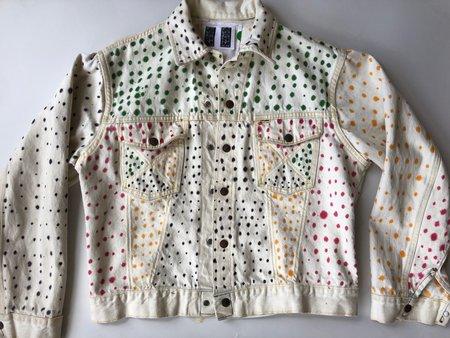 IQSF Dotted Denim Jacket