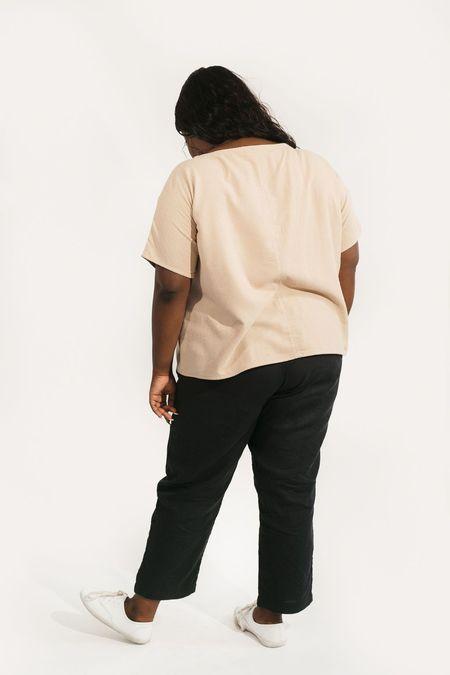 Two Fold Clothing Raw Silk Krissy Tee