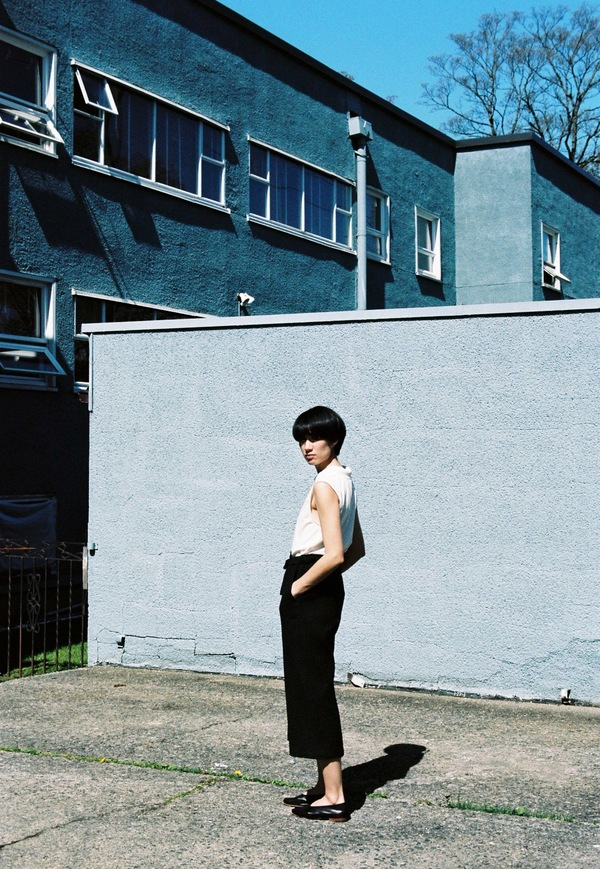Samuji Corrie Trouser - black raindrop