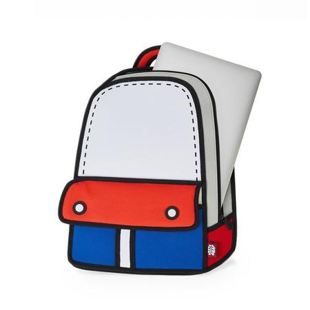 Jump from Paper Adventure Backpack - Gray
