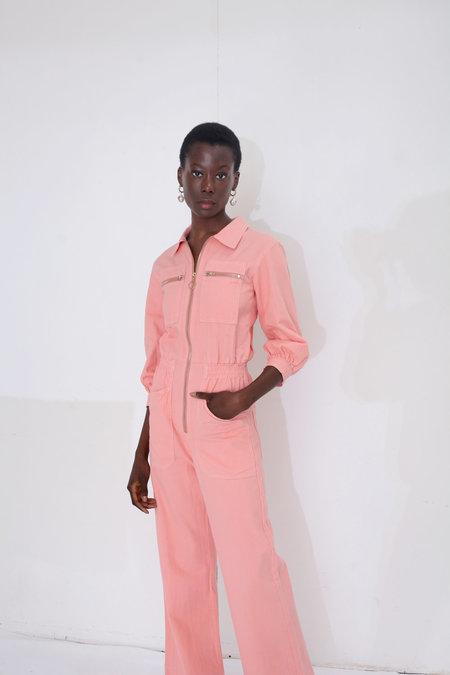 L.F. Markey Dante Boilersuit - Peach