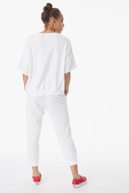 Xirena SIMON SWEATPANT - WHITE SHELLS