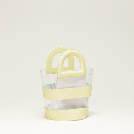 AUDETTE ACAPULCO BAG - BUTTER