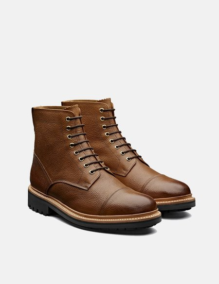 Grenson Joseph Grain Boot - Tan