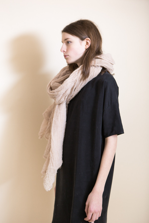 Scarf Shop Cotton Giant Scarf / Rose Quartz