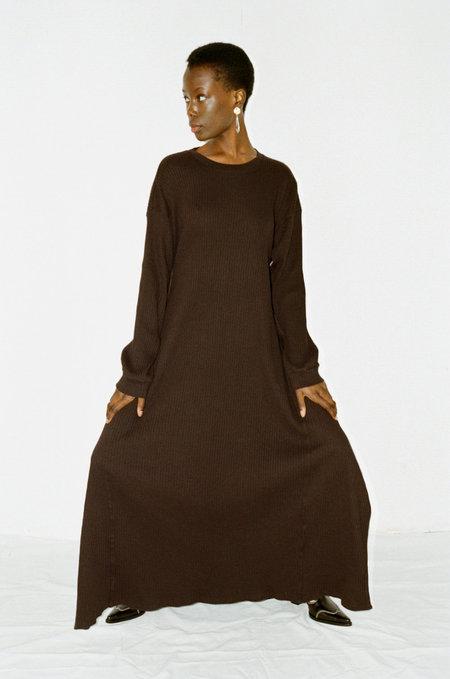BASERANGE Shaw Long Sleeve Kaftan - black