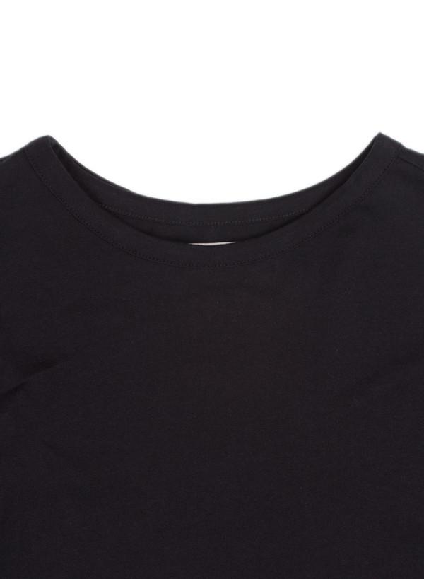 Men's Public School Asymmetrical Back T-Shirt Black